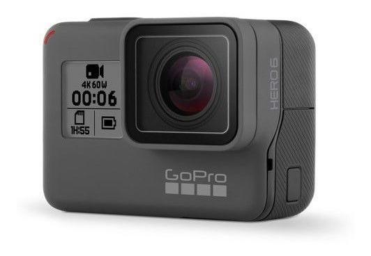 Gopro Hero 6 Black Com Cartão Sd De 128gb Com 2 Baterias