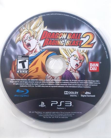Dragon Ball Raging Blast 2 - Ps3 - Midia Fisica Original