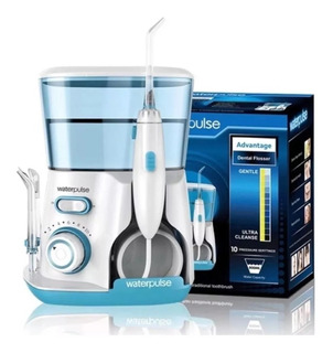Waterpulse Irrigador Bucal + 800 Ml+ 5 Picos+ 10 Niv Presion