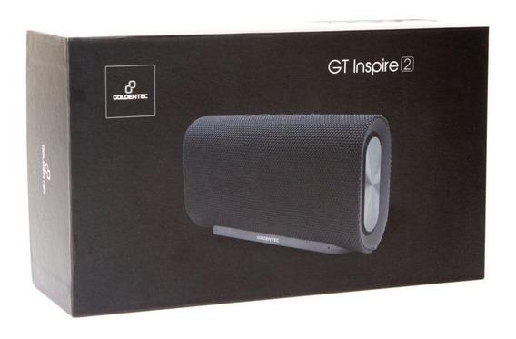 Caixa De Som Goldentec Bluetooth Gt Inspire 2