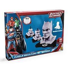 Puzzle Escultura 3d - Liga Da Justiça: Batman.