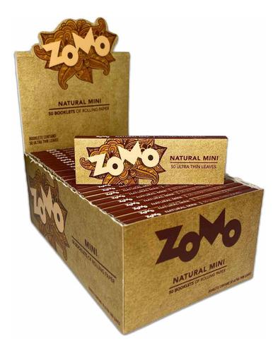 Caixa De Seda Zomo Natural Mini Brown Marrom Pequena Barato