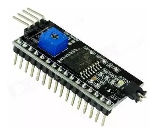 Módulo Adaptador I2c Conversor Lcd 1602 Ou 2004 Arduino