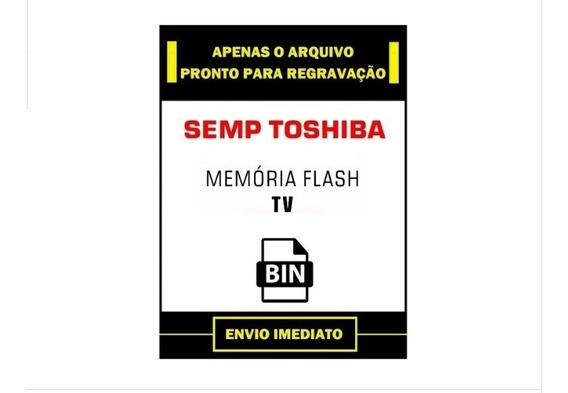 Arquivo Dados Memória Flash Eprom Tv Semp Toshiba Le3256(a)w