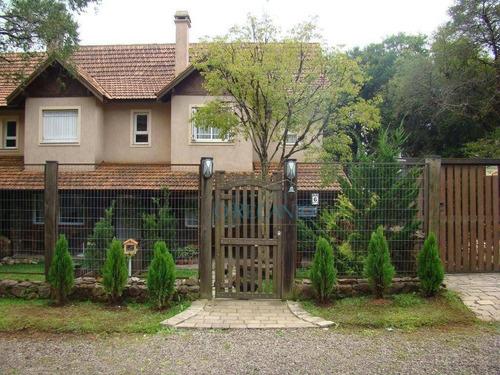 Casa Com 3 Dormitórios À Venda, 163 M² Por R$ 1.064.000,00 - Vila  Suíça - Gramado/rs - Ca0282