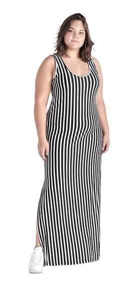 Vestido Maxi De Mujer Tallas Extras C&a