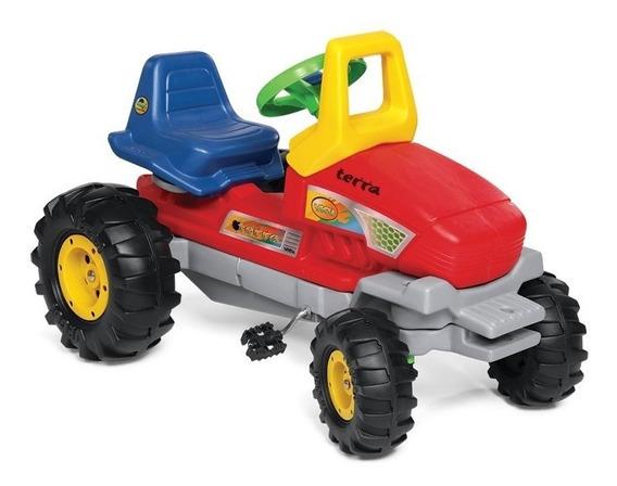 Tractor A Pedal Cadena Y Direccion Terra Vegui