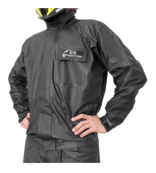 Traje De Lluvia Moto Hombre Campera Pantalon Spektor