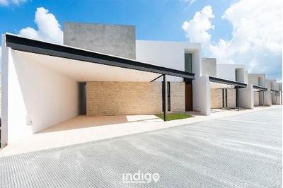 Casa Nueva En Venta En Exclusiva Privada Antalya, Cholul, Mérida Norte