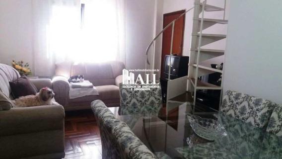 Cobertura Com 3 Dorms, Vila Redentora, São José Do Rio Preto - R$ 298.000,00, 100m² - Codigo: 2723 - V2723