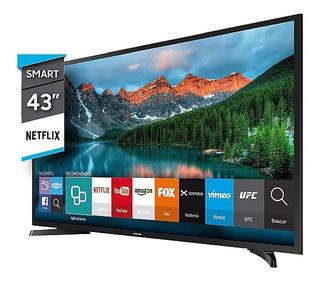 Smart Tv Led 43 Pulgadas Full Hd Samsung Un43j5290 Hdmi Usb