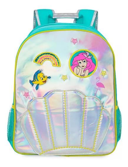 Mochila Backpack Ariel Disney Nueva