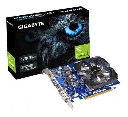 Placa De Vídeo Gigabyte Geforce Gt420 2gb 128bits