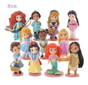 Bonecas Miniatura Princesas Disney Kit Com 11 - Promoção