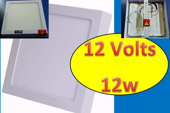 2 Iluminação 12w Led 12v Uso Solar/ Barco/ Trailler