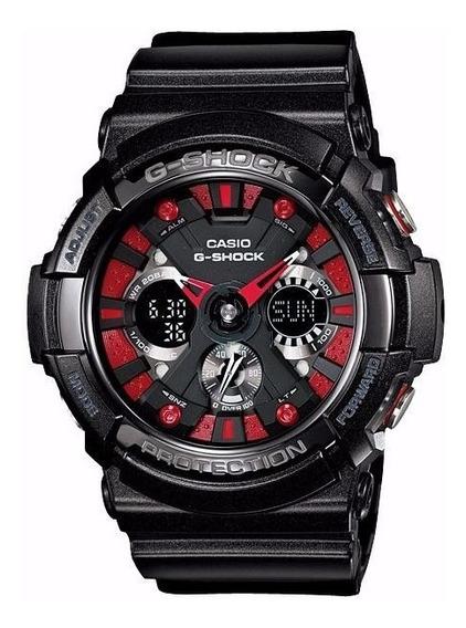 Relogio Casio Ga 200sh Unisex Gshock 5alarm Wr200m Ga200 Nf