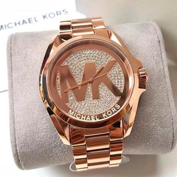 Relógio Michael Kors Mk6437 Rose Gold Original Orlando