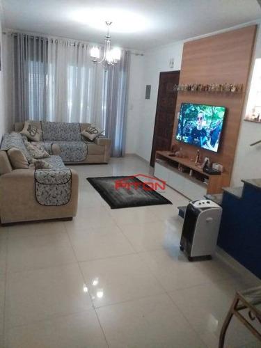 Sobrado Com 3 Dormitórios À Venda, 90 M² Por R$ 550.000,00 - Ponte Rasa - São Paulo/sp - So2385