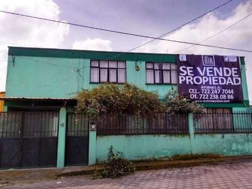 Casa Con Terreno En Venta, San Lorenzo Coacalco, Metepec, Mex.