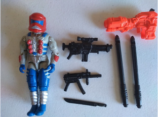 Ja Gi Joe Ozone:astro-infantry Trooper V3 1993 Vintage