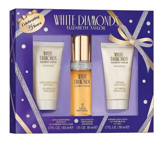 Perfume Elizabeth Taylor White Diamonds Set X 4 100 Ml Parfu