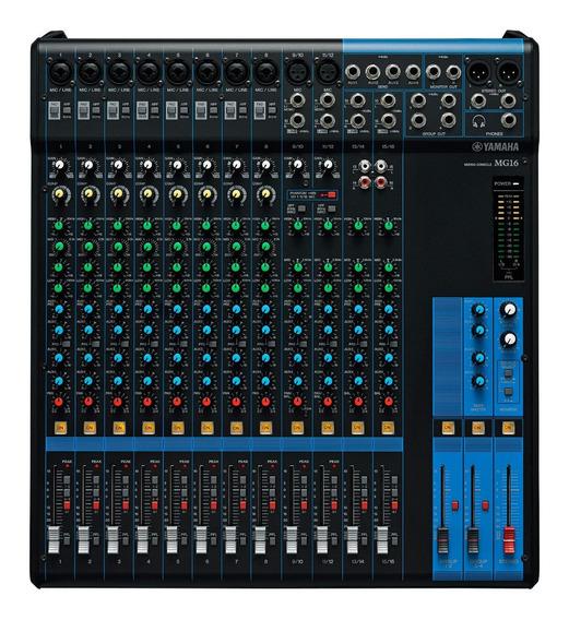 Mesa De Som Yamaha Mg16 | Original | Garantia | Nfe