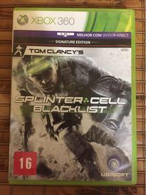 Splinter Cell Black List - Xbox 360 - Original