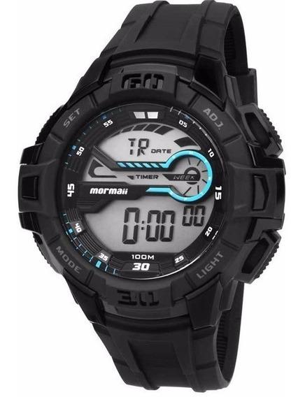 Relógios Mormaii Masculino Digital Mo1081/8c Original 100m