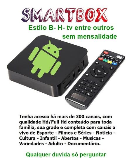 Tv Box Tranforme Sua Tv Em Smart Android 4k