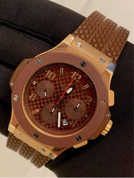 Hublot Big Bang Capuccino De Ouro Rosa 44mm , Completo !!!