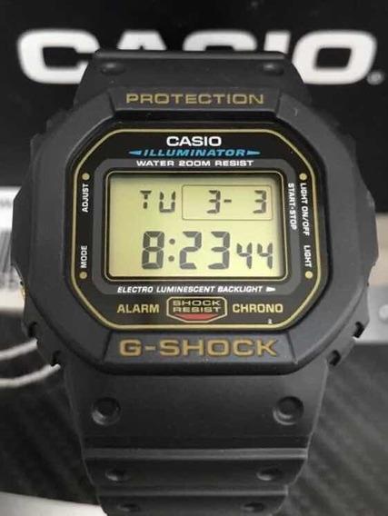 Relógio Casio G Shock Dw-5600eg Original Raridade Serie Ouro Novo