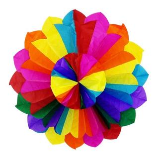 Enfeite Festa Junina Florata Colorido 60 Cm