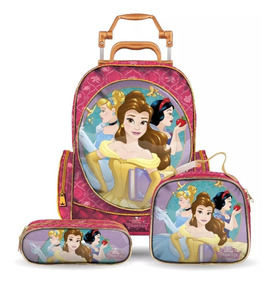 Kit Escolar Princesas Disney Infantil Dermiwil Original