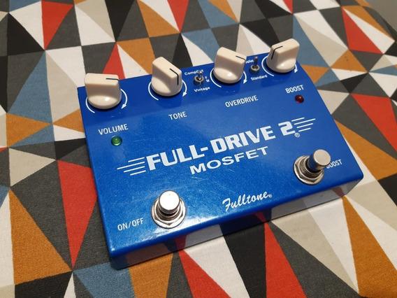 Pedal Fulltone Full Drive 2 Mosfet. Top Demais
