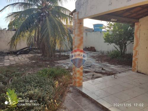 Ótima Casa Com 2 Quartos À Venda - 250m² - Vingt Rosado - Mossoró/rn - Ca0226