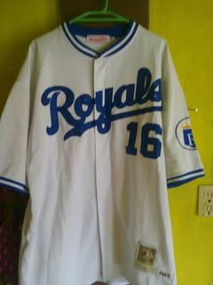 Jersey Original Mlb Kansas City Royals Bo Jackson De Colecci