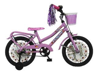 Bicicleta Futura Paseo Twiggy Nena R16