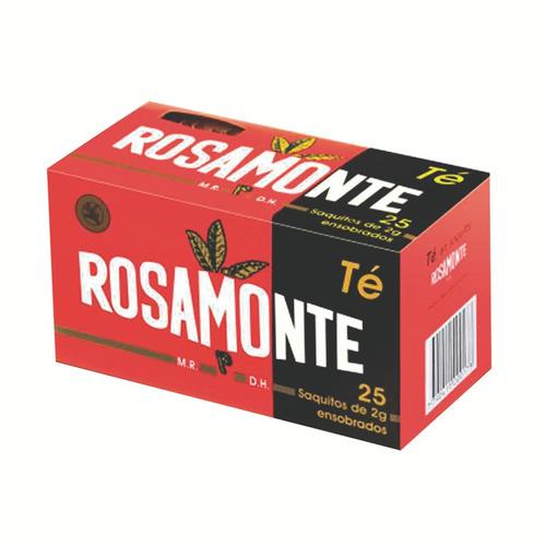 Té Rosamonte 25 Saquitos