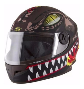 Capacete De Moto Motoqueiro Infantil Esportivo - Pro Tork