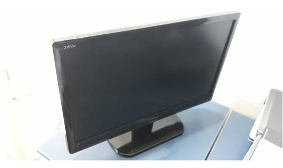 Monitor Philips 215vw 22 Polegadas Wide Screen Com Cabos