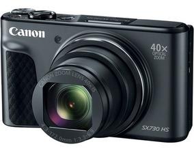 Câmera Canon Powershot Sx730 Hs 20.3mp 40x Zoom Preta