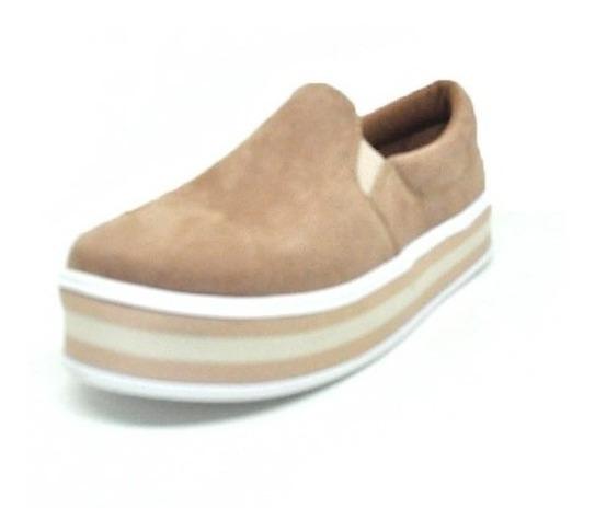 Sapatos Femininos Tenis Casual Nobuck Listra Dani K