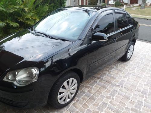 Vw Polo Sedan 2011 Preto Completo