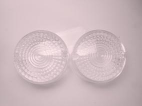 Lentes (par) Sinaleiras Shineray Xy 50cc Cristal
