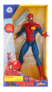 Muñeco Spiderman Articulado Marvel 30cm Original Sonoro Box