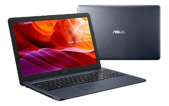Notebook Asus, 7ªger. Core I3 7020u, 4gb,1tb, 15 W10, Cinza