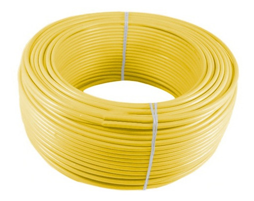Imagen 1 de 1 de Alambre O Cable Rígido N12' Amarillo X 100 Metros Procables