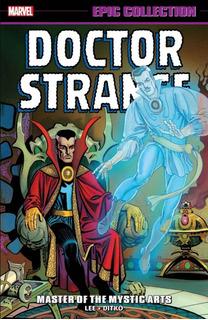 Doctor Strange Epic Collection 1 Marvel Comics - Robot Negro
