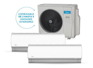Aire Multisplit Midea Inverter 10600+ 3000-4500-5500w F/c