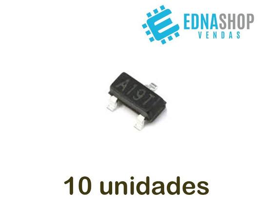 10x Transistor A19t - Ao3401 Receptor Original Carta 10,00